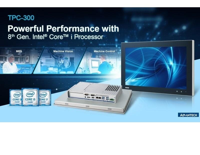 """Spoločnosť Advantech uviedla na trh novú generáciu priemyselných panelových počítačov TPC typu """"všetko v jednom"""""""