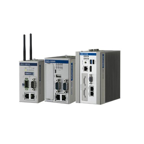 Séria UNO-1000 - bezventilátorové PC na DIN lištu od spoločnosti Advantech