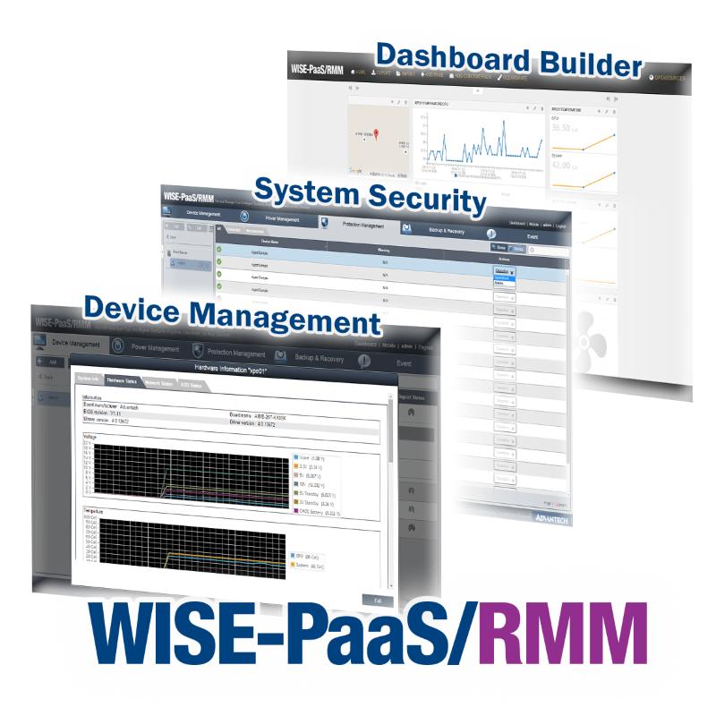 WISE-PaaS/RMM - vzdialené monitorovanie a správa Advantech zariadení