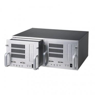 """4U priemyselná skrinka do 19"""" racku ACP-4D00 pre dva systémy"""