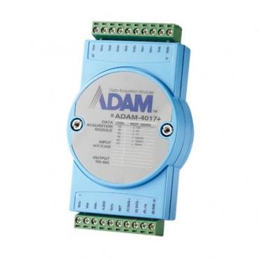 Analógový RS-485 I/O modul ADAM-4017+, 8 analógových vstupov, Modbus/RTU