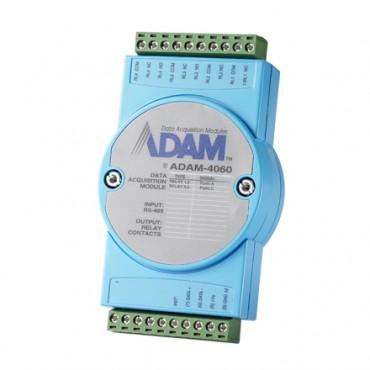 Digitálny RS-485 I/O modul ADAM-4060, 4 relé výstupy