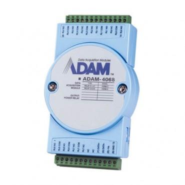 Digitálny RS-485 I/O modul ADAM-4068, 8 relé výstupov, Modbus/RTU