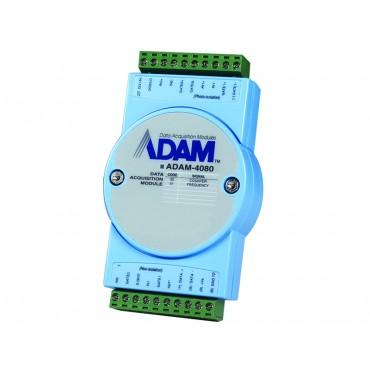 Digitálny RS-485 I/O modul ADAM-4080, 2 počítadlá/merače frekvencie a 2 digitálne výstupy