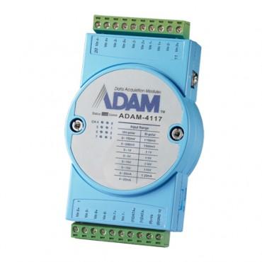Robustný RS-485 I/O modul ADAM-4117, 8 analógových vstupov, Modbus/RTU