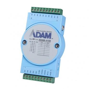 Robustný RS-485 I/O modul ADAM-4150, 15 digitálnych vstupov/výstupov, Modbus/RTU