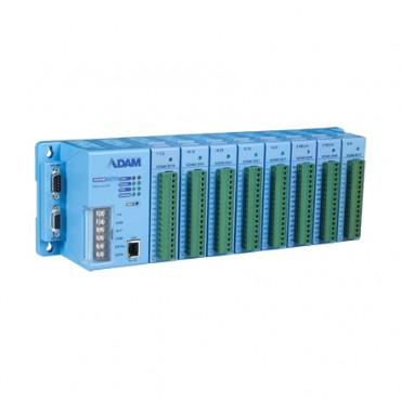 Modulárny I/O systém ADAM-5000/TCP s 8 rozširujúcimi slotmi a komunikáciou cez Ethernet
