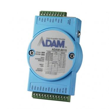 Ethernetový I/O modul ADAM-6015, 7 izolovaných RTD vstupov, Modbus/TCP
