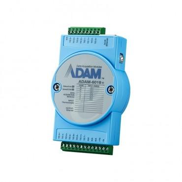 Ethernetový I/O modul ADAM-6018+, 8 izolovaných termočlánkových vstupov, 8 digitálnych výstupov, Modbus/TCP