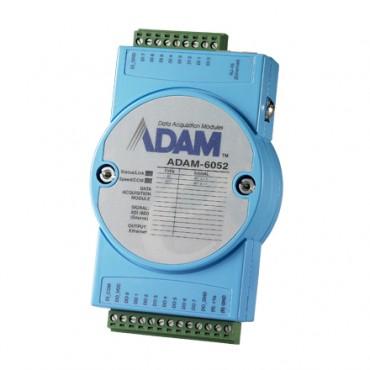 Ethernetový I/O modul ADAM-6052, 16 izolovaných digitálnych vstupov/výstupov (typu source), Modbus/TCP