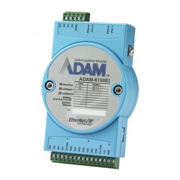 Real-Time EtherNet/IP I/O modul ADAM-6150EI, 15 izolovaných digitálnych vstupov/výstupov