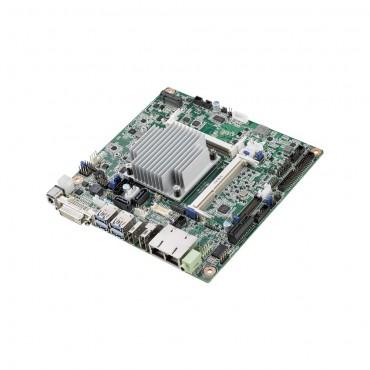 Priemyselná Mini-ITX základná doska AIMB-216 s Intel Pentium/Celeron QuadCore/DualCore, DP/HDMI/DVI-D, 6xCOM, 2xLAN