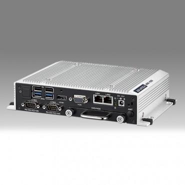 """Bezventilátorové zapúzdrené PC ARK-1550, Intel Core i5 4300U/Celeron 2980U, 1x VGA, 1x HDMI, 2x GbE, 2x USB2, 2x USB3, GPIO, 3x COM, 1x mPCIe/mSATA, 1x M.2-E, 1x 2.5"""" SATA"""