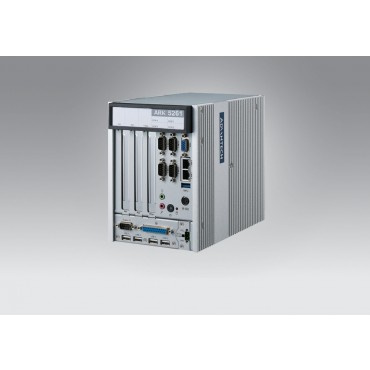 "Priemyselné Modulárne IPC ARK-5261, Intel Celeron J1900, DDR3L, VGA, 2xGbE, 4xCOM, 6xUSB, PS/2, LPT, DIO, 2x2.5"" SATA, mSata, mPCIe, PCI, PCIe"