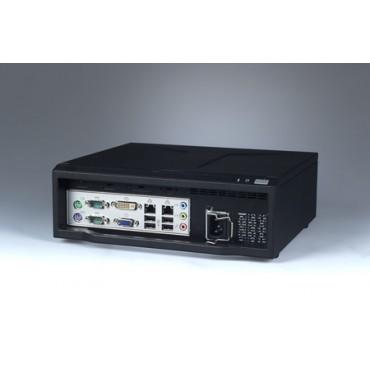 Mini-ITX priemyselná skrinka ARK-6620 s I/O na prednom panely