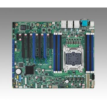 Priemyselná serverová ATX zákl. doska ASMB-813 s LGA2011-R3, 5.gen. Intel Core/Xeon E5, DDR4, 7xPCIe, 11xUSB, 8xSATA3, 2xLAN, IPMI
