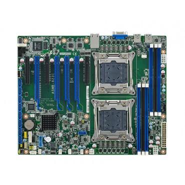 Priemyselná serverová ATX zákl. doska ASMB-823 s Dual LGA2011-R3, Intel Xeon E5, DDR4, 7xPCIe, 9xUSB, 9xSATA3, 2xLAN, IPMI