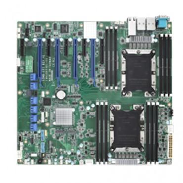 Priemyselná serverová proprietárna zákl. doska ASMB-975 s Dual LGA3647-P0, Intel Xeon Scalable, DDR4, 9xPCIe, 11xUSB, 8xSATA3, 2xM.2, 4xLAN, IPMI