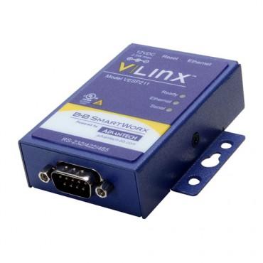 Sériový server BB-VESP211, 1x RS-232/422/485, 1x LAN