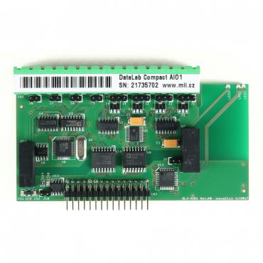 DataLab Compact DLC-AIO1 - modul analogových vstupov/výstupov