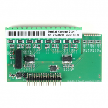 DataLab Compact DLC-DI2H - modul digitálnych vstupov so spoločným pólom