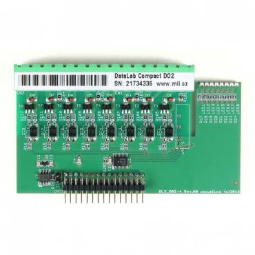DataLab Compact DLC-DO2 - modul digitálnych výstupov s otvoreným kolektorom