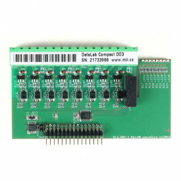 DataLab Compact DLC-DO3 - modul digitálnych výstupov so spoločným pólom