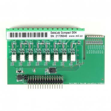 DataLab Compact DLC-DO4 - modul digitálnych výstupov s polovodičovými relé