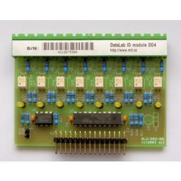 DataLab DL-DO4 - modul digitálnych výstupov s polovodičovými relé