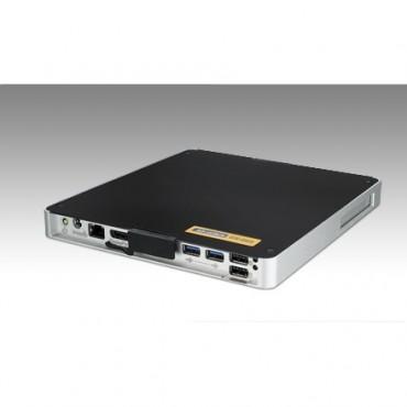 """Digital Signage PC DS-061, Intel Core i7-3517UE, max. 8GB DDR3, 1xVGA, 1xDP, 1xLAN, 2xUSB2, 2xUSB3, 1xRS232, 1xMiniPCIe, 1x2,5"""" SATA"""