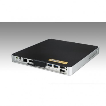 """Digital Signage PC DS-065, Intel Atom N2600, max. 4GB DDR3, 1xVGA, 1xHDMI, 1xLAN, 4xUSB2, 1xRS232, 1xMiniPCIe, 1x2,5"""" SATA"""