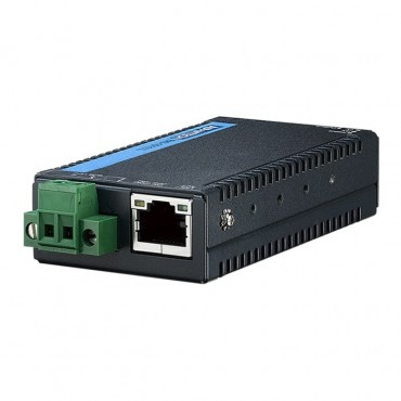 Sériový server EKI-1511IL s 1x RS-232 DB9, 1x LAN RJ45 a širokou prevádzkovou teplotou