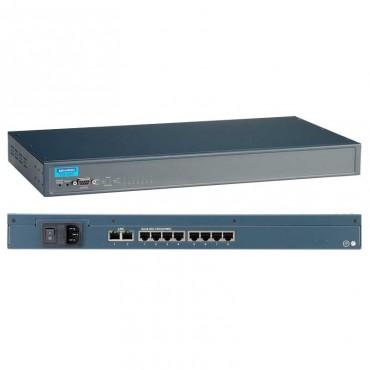 Sériový server EKI-1528 s 8x RS-232/422/485 2x RJ45 LAN