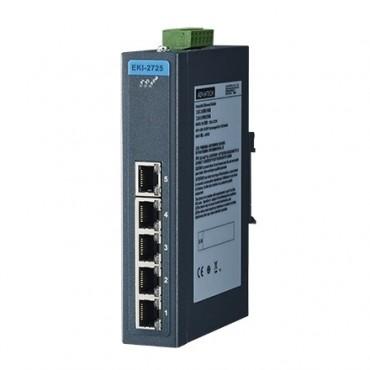 5-portový gigabitový priemyselný switch EKI-2725