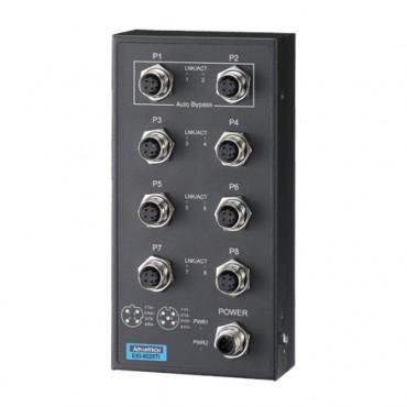 8-portový EN50155 priemyselný switch EKI-6528TI s rozšírenými pracovnými teplotami