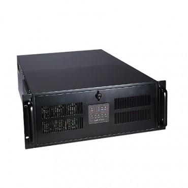 """4U priemyselná skrinka do 19"""" racku IPC-623 pre 4 systémy"""
