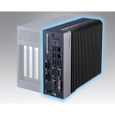 """Bezventilátorové modulárne priemyselné PC MIC-7700, 6./7.Gen. Intel Core i, DDR4, VGA, DVI, 2x GbE, 8x USB, 6x COM, 2,5"""" SATA, CFast, 2x MiniPCIe(USIM, mSATA), Audio, iDoor, i-Module"""