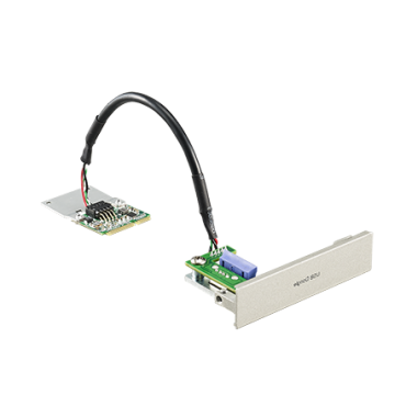 PCM-23U1DG, iDoor rozširujúci modul, USB slot so zámkom pre USB Dongle