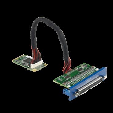 PCM-24D4R4, iDoor rozširujúci modul, 4 neizolované porty RS-422/485, mPCIe, DB37