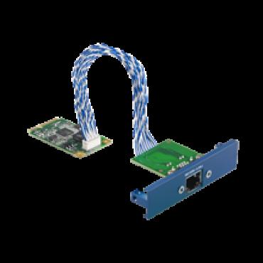 PCM-24R1TP, iDoor rozširujúci modul, 1x Gigabit Ethernet, Intel 82574L, mPCIe, RJ45