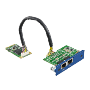 PCM-24R2GL, iDoor rozširujúci modul, 2x Gigabit Ethernet, mPCIe, RJ45