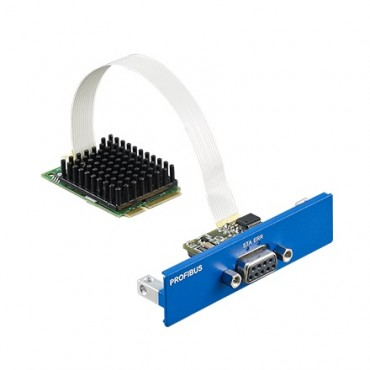 PCM-26D1DB, iDoor rozširujúci modul, 1-Port Hilscher netX100 FieldBus mPCIe, PROFIBUS, DB9