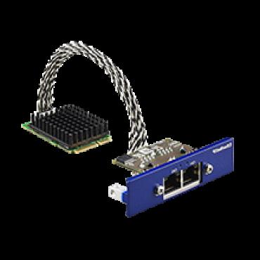 PCM-26R2EI, iDoor rozširujúci modul, 2-Port Hilscher netX100 FieldBus mPCIe, EtherNet/IP, RJ45