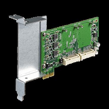 PCM-28P1AD, iDoor rozširujúci modul, PCIe na mPCIe, 2x mPCIe plnej veľkosti, 1x iDoor I/O krycia doska do PCIe slotu