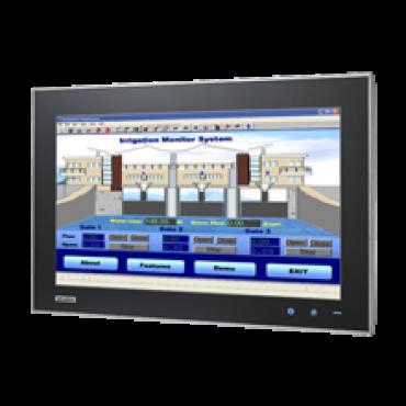 """Bezventilátorový počítač SPC-221 s 21.5"""" dotykovým displejom, 6. gen. Intel procerorom, všestranným IP66 krytím a M12 konektormi"""