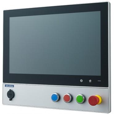 """Bezventilátorový počítač SPC-815 s 15"""" dotykovým displejom, zabudovanými tlačidlami, 6. gen. Intel procerorom a IP65 krytím"""