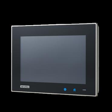 """Bezventilátorový panelový počítač TPC-1051WP s 10"""" široko uhlým multidotykovým displejom a Intel Atom E3827"""