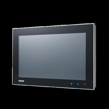 """Bezventilátorový panelový počítač TPC-1551WP s 15,6"""" široko uhlým multidotykovým displejom a Intel Atom E3827"""