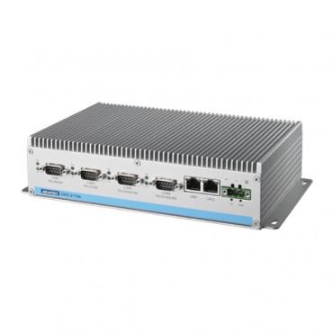 Bezventilátorové PC UNO-2178A s 2 x GLAN, 6 x USB, 8 x COM, 2 x Mini PCIe