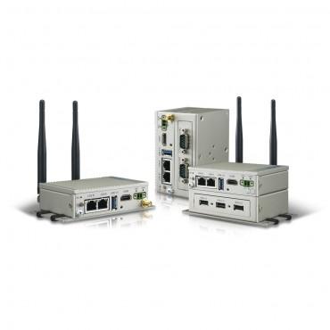 Bezventilátorová IoT brána UNO-2271G-E23AE s Intel E3815 a 4GB RAM, 32GB SSD, 2x GLAN, 1x USB3.0, 2x COM, HDMI, 1x Mini PCIe